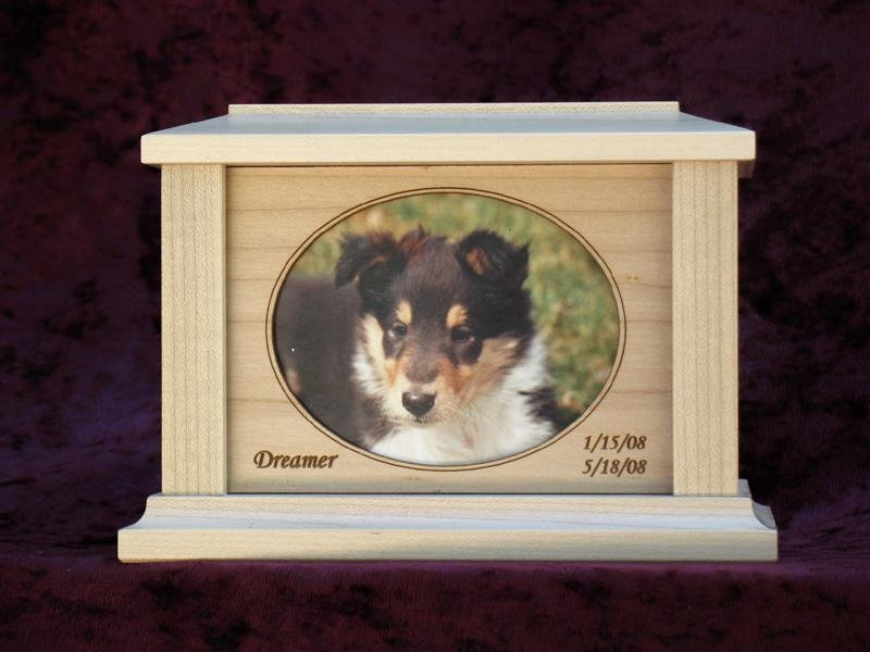 Countrywood Photo Urn Maple - Small