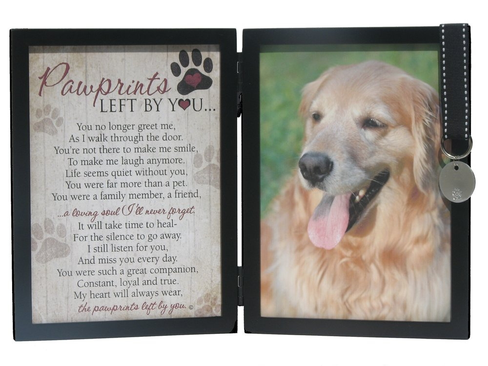 Faithful Friends Store Pawprints Left By You Double Desk Frame