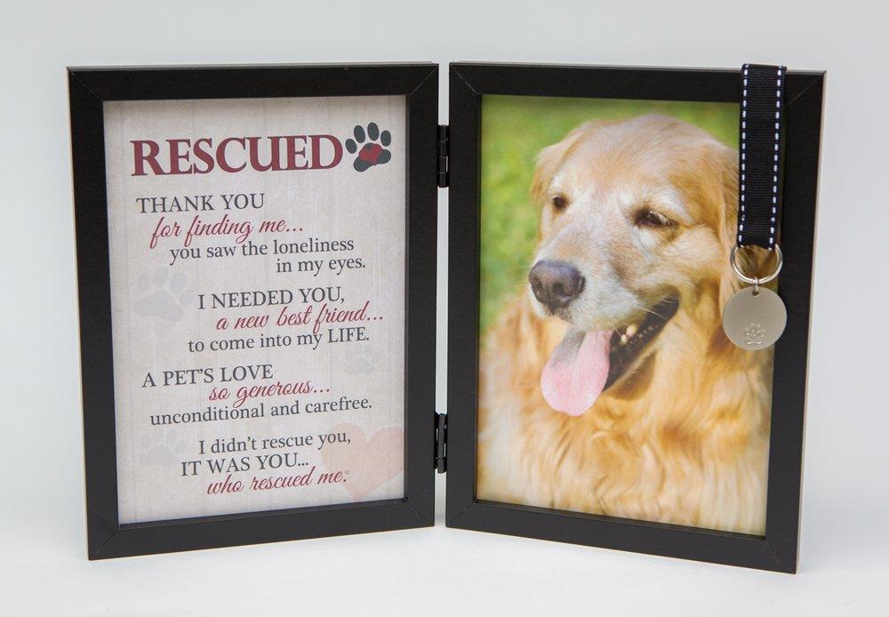 Faithful Friends Store > Rescued Double Desk Frame - Dog | Faith...