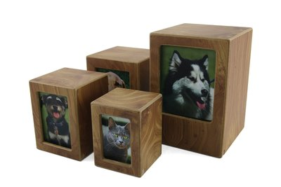 MDF Photo Urn Natural - Extra Small
